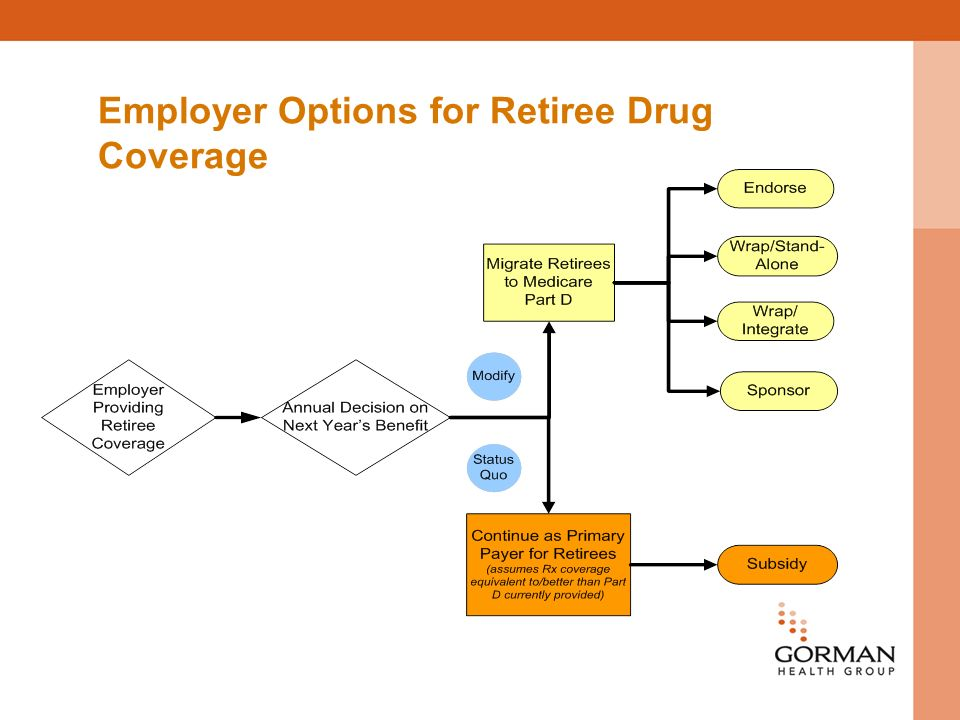 Employer Options for Retiree Drug Coverage