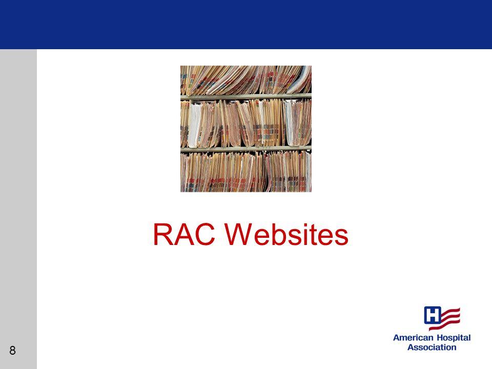 8 RAC Websites