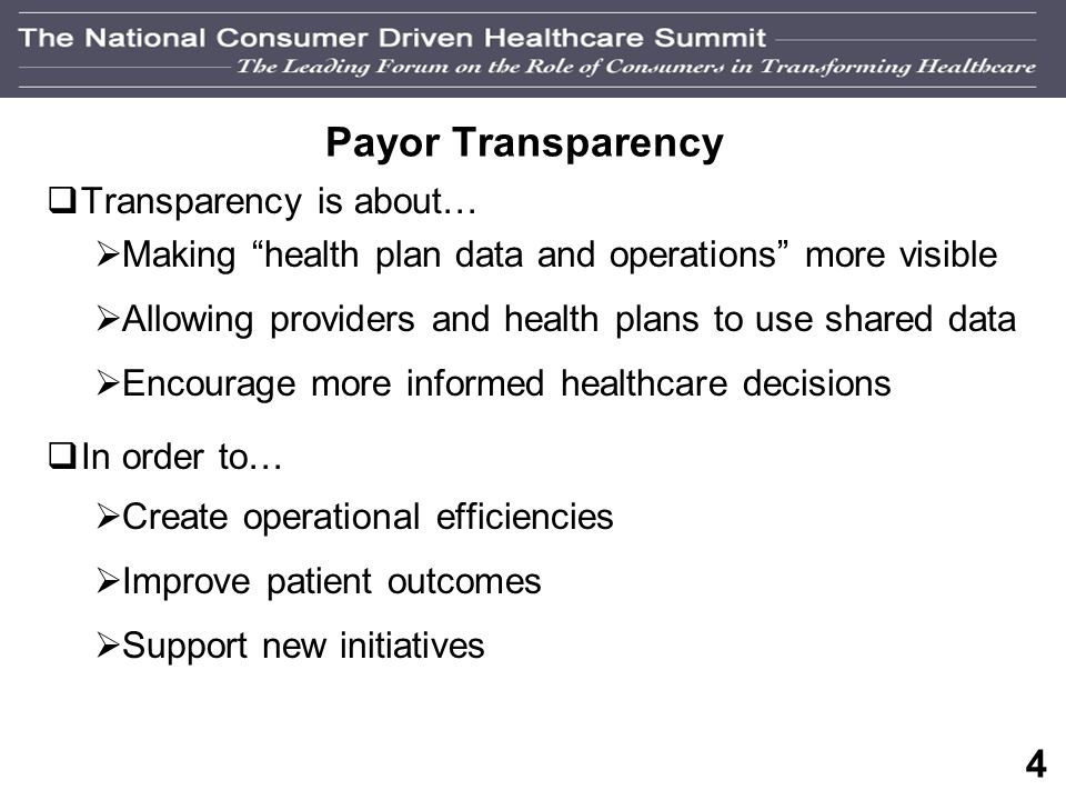 3 What are Payors Doing About the Cost of Healthcare Today.