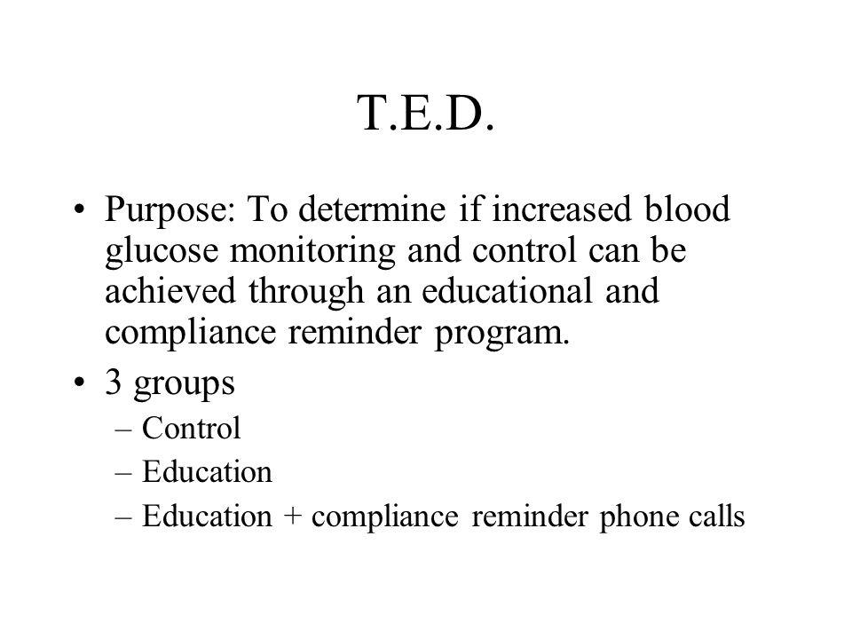 T.E.D.