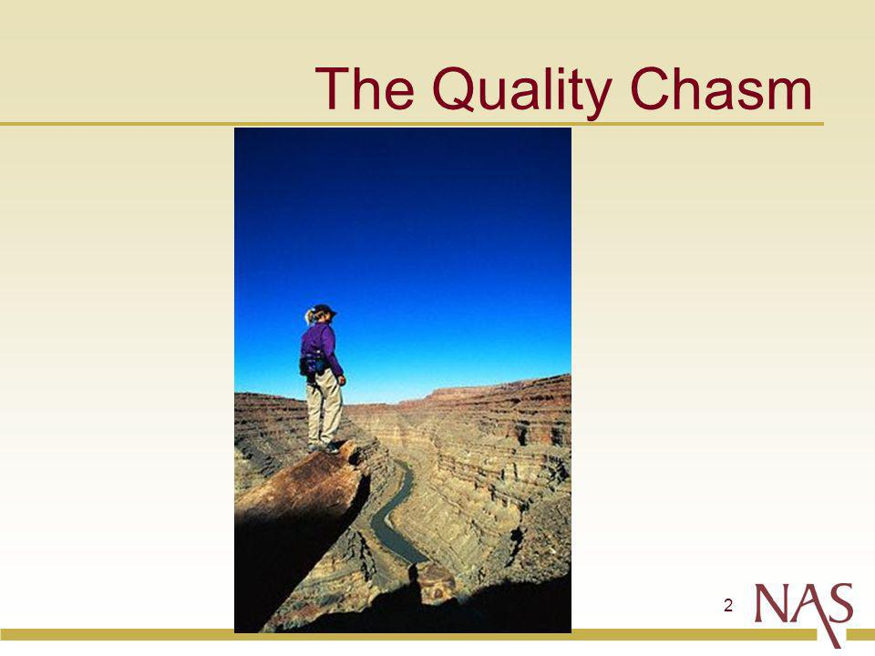 2 The Quality Chasm