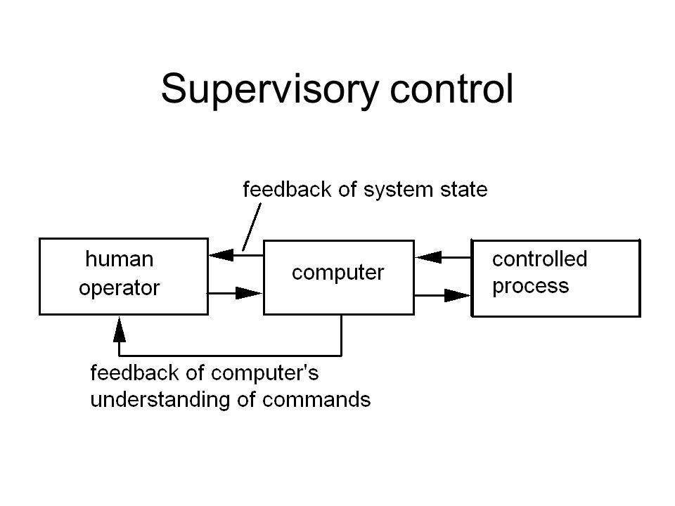 Supervisory control
