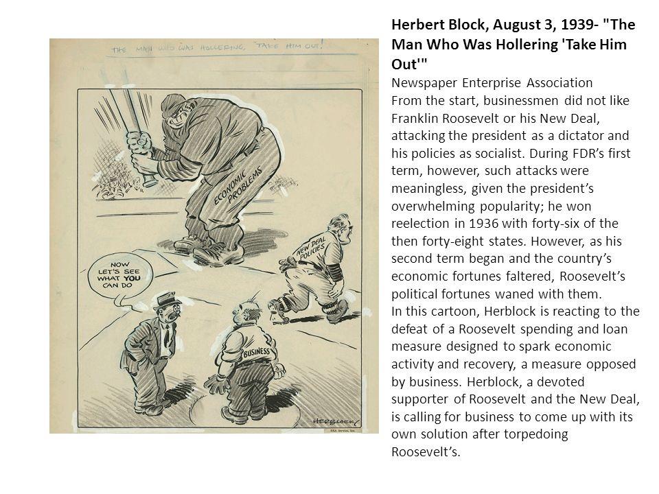 Herbert Block, August 3, 1939-