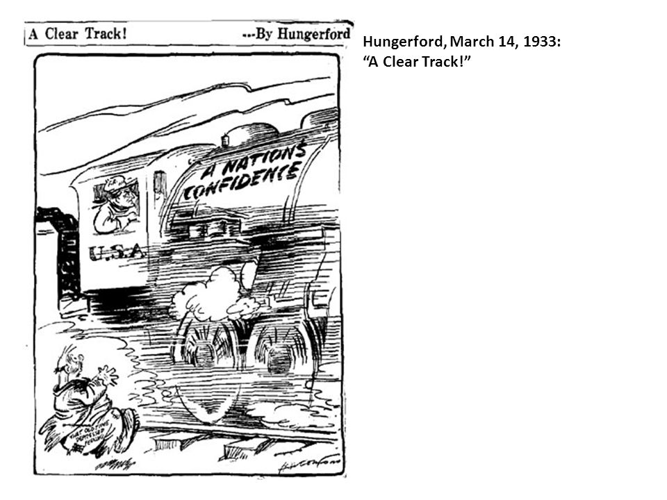 Hungerford, March 14, 1933: A Clear Track!