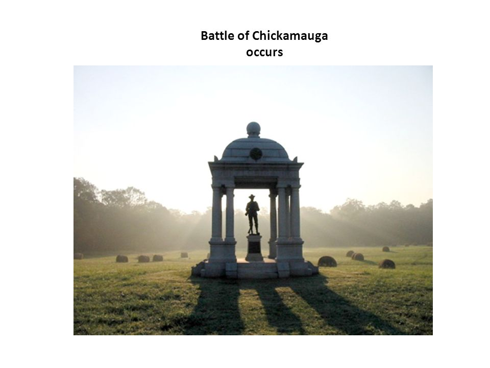 Battle of Chickamauga occurs