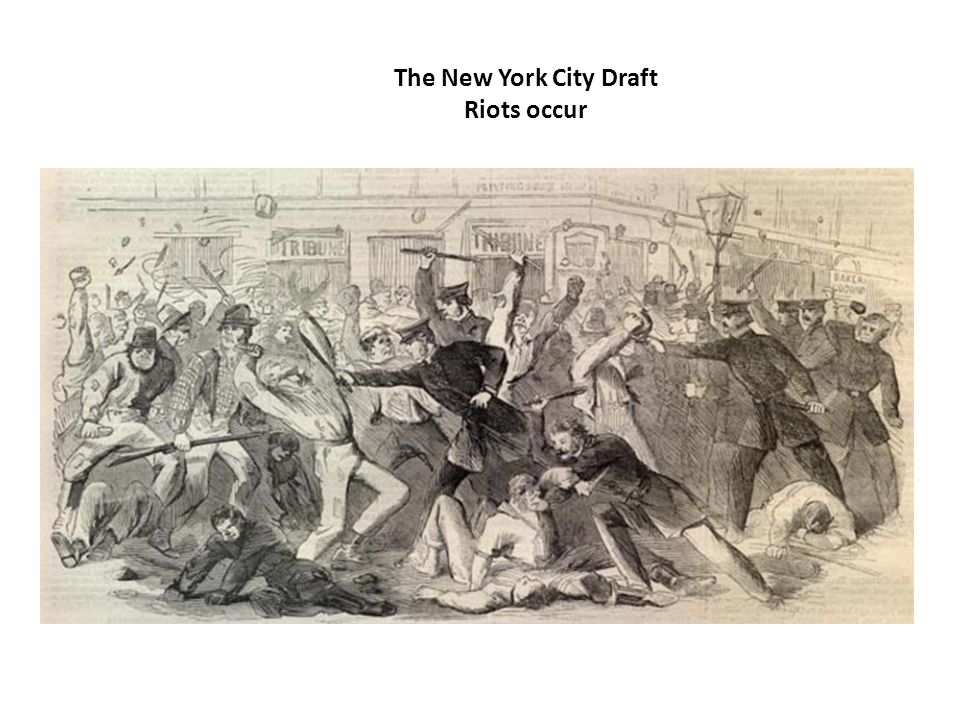 The New York City Draft Riots occur