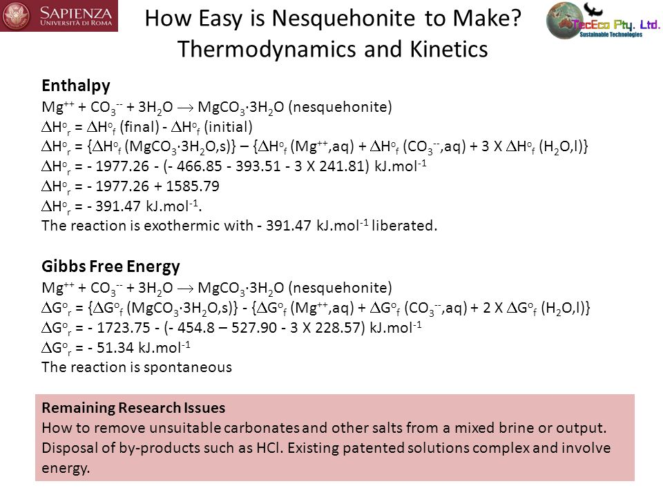 How Easy is Nesquehonite to Make.
