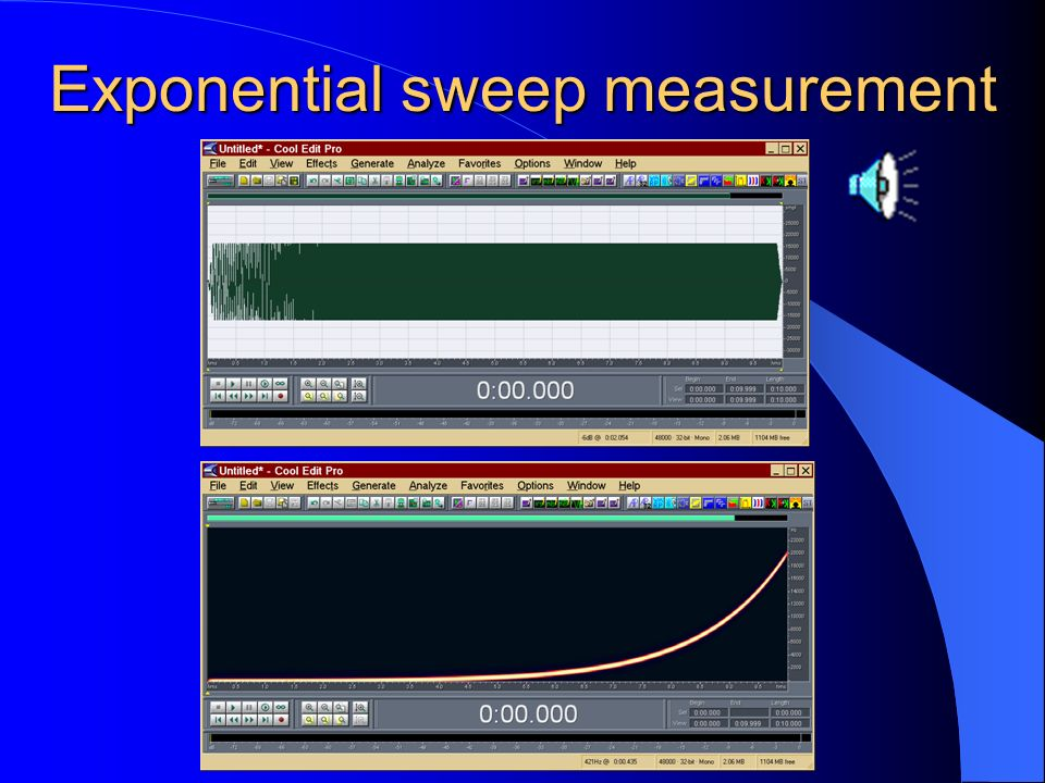 Log Sine Sweep deconvolution The time reversal mirror approach is based on the convolution with the time-reversal of the excitation signal. If its spe