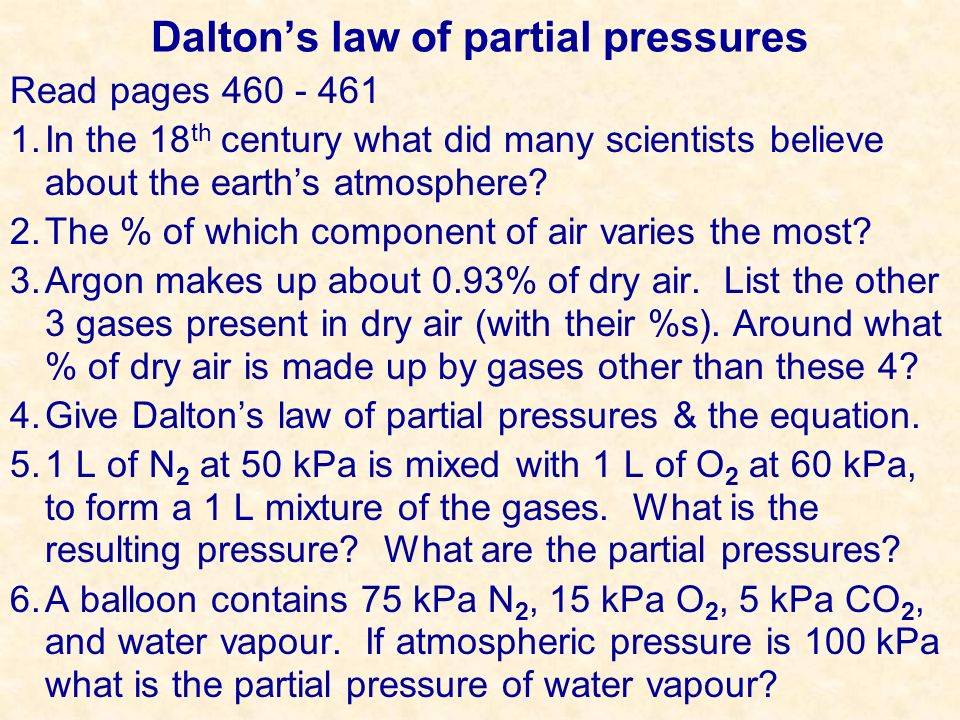 How Much Pressure. Q - A balloon is filled with pure oxygen.