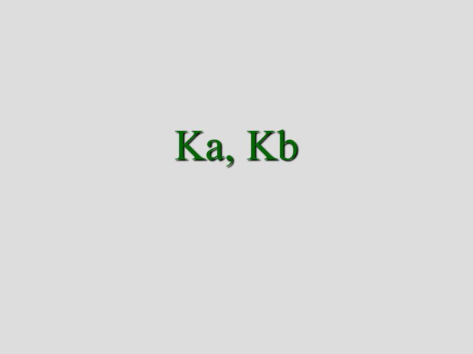 Ka, Kb