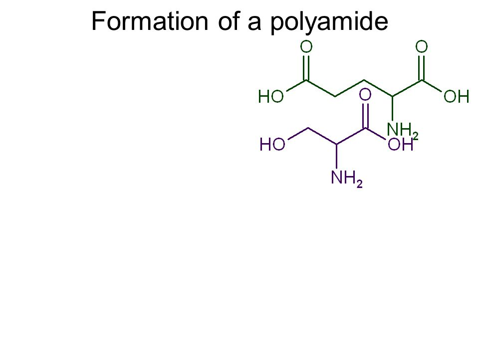 Formation of a polyamide