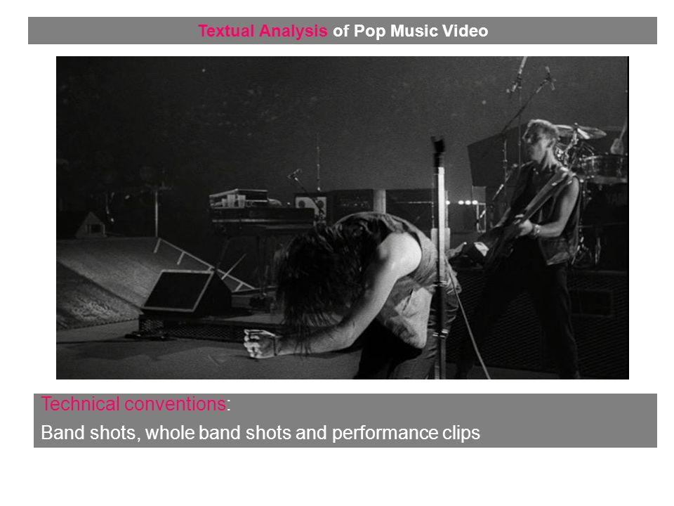 Representation: Voyeurism Textual Analysis of Pop Music Video