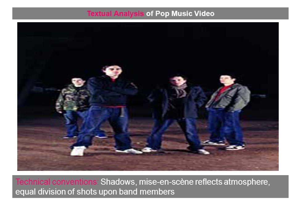 Representation: Urban Locations Textual Analysis of Pop Music Video