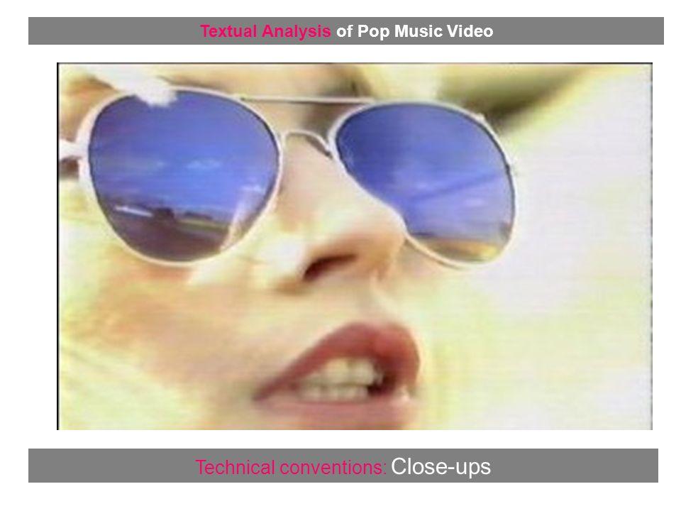 Representation: Guitar Solos Textual Analysis of Pop Music Video