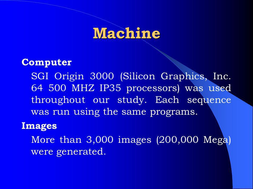 Machine Computer SGI Origin 3000 (Silicon Graphics, Inc.