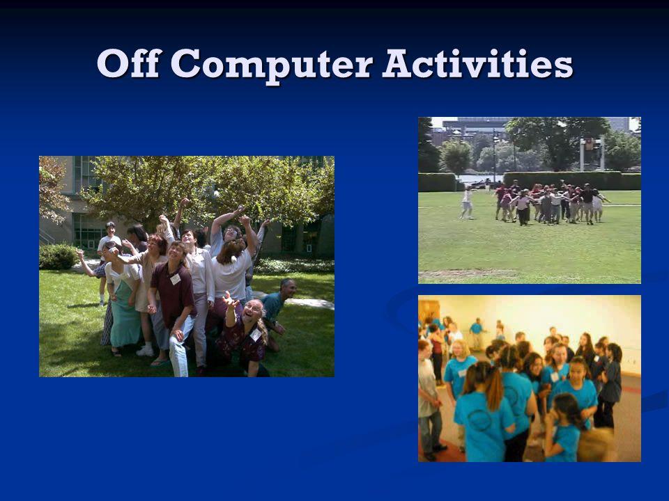 Off Computer Activities