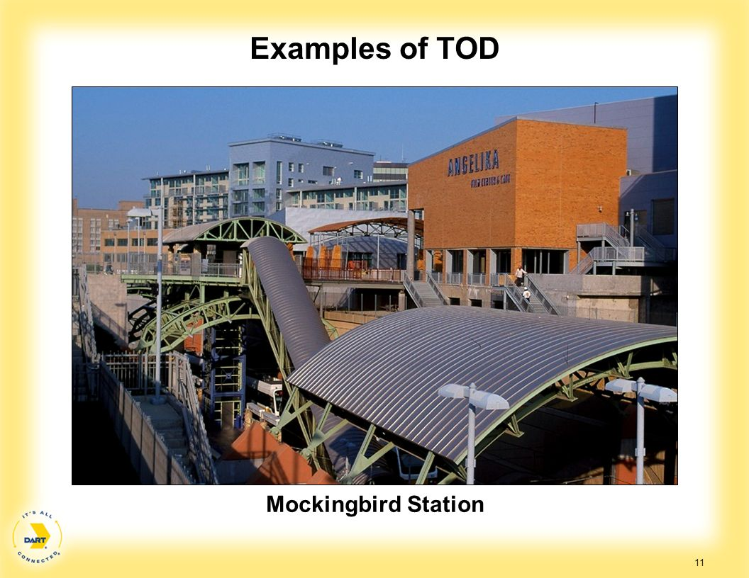 11 Examples of TOD Mockingbird Station