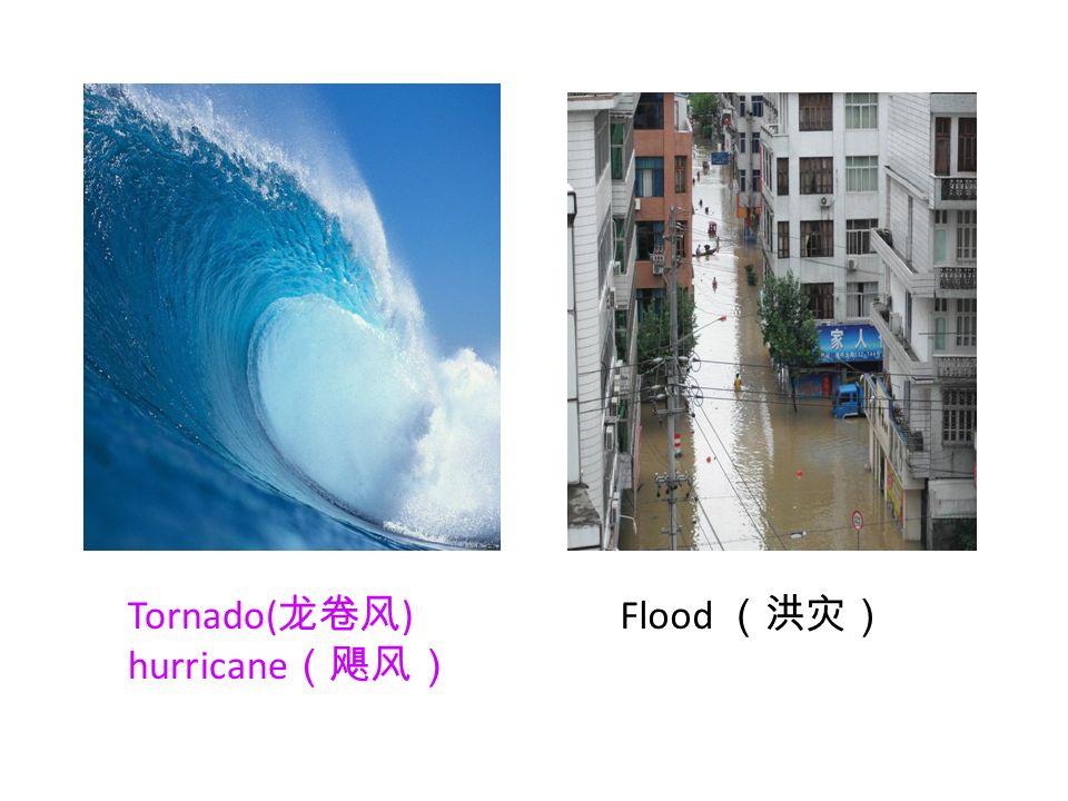 Flood Tornado( ) hurricane