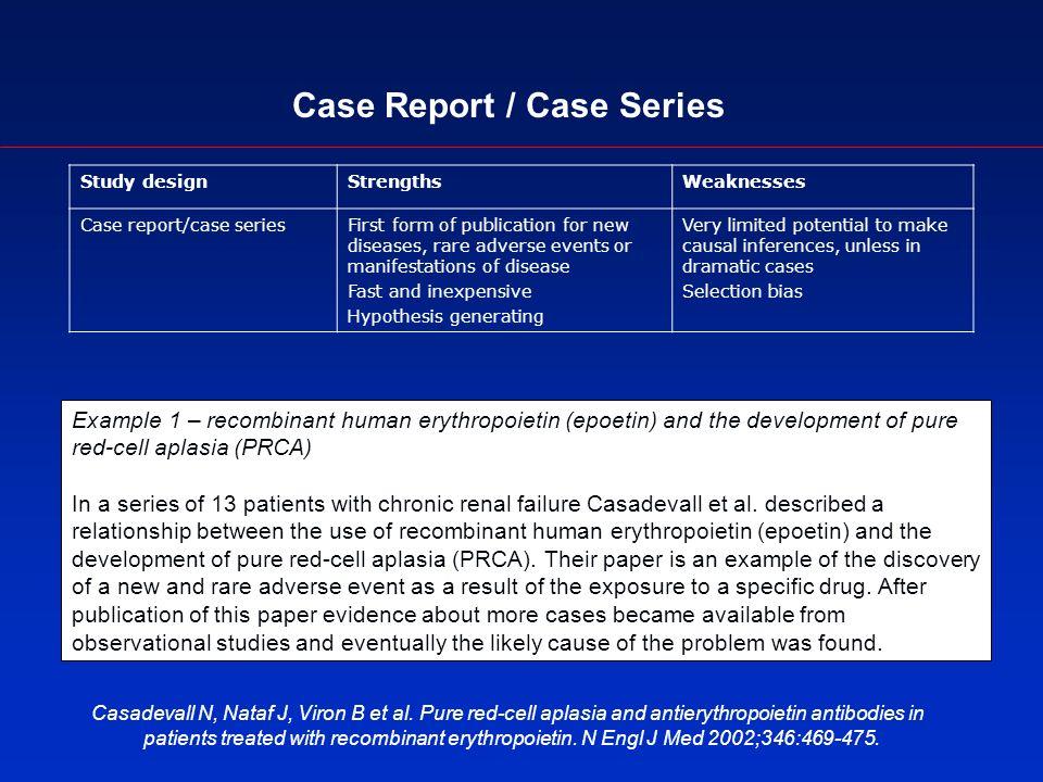 Case Report / Case Series Casadevall N, Nataf J, Viron B et al.