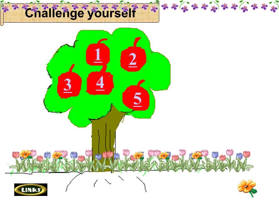 1 2 3 4 5 Challenge yourself