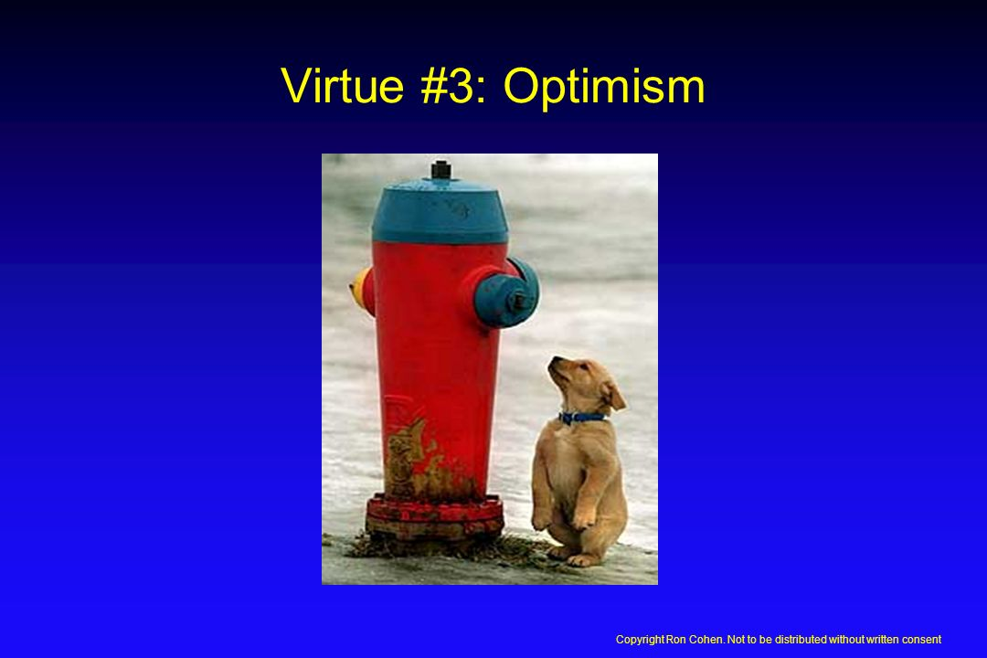 Virtue #2: Patience