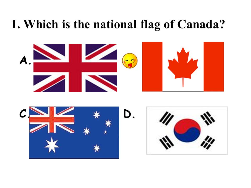 2. What is the capital of Canada? A. B. Vancouver Toronto C. D. Calgary Ottawa
