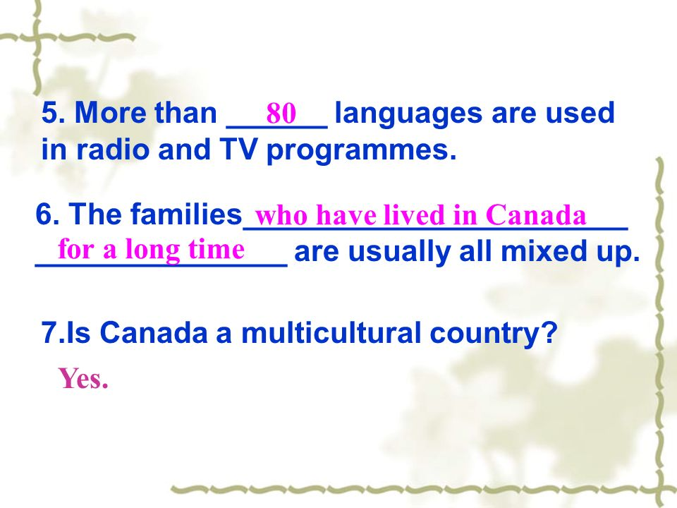 5. More than ______ languages are used in radio and TV programmes.