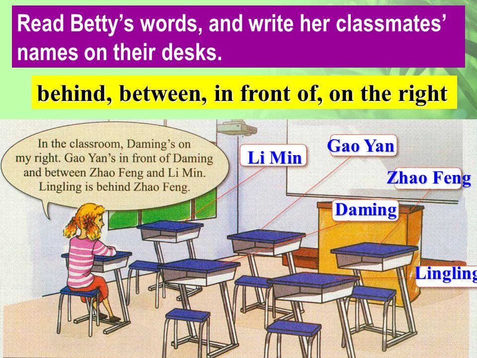 The building is Betty school. library [laibrəri] [bildiŋ] playground