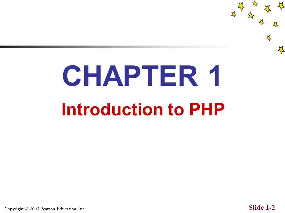Copyright © 2003 Pearson Education, Inc. Slide 1-1 The Web Wizards Guide to PHP by David A. Lash