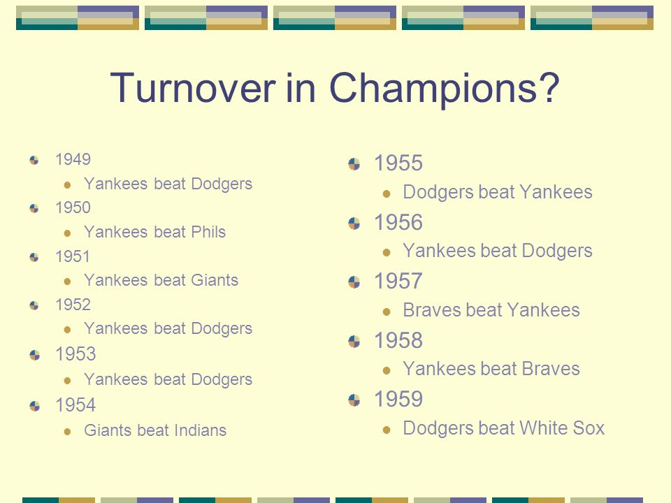 Turnover in Champions.