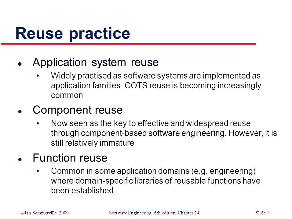 ©Ian Sommerville 2000 Software Engineering, 6th edition. Chapter 14Slide 48 The Observer pattern