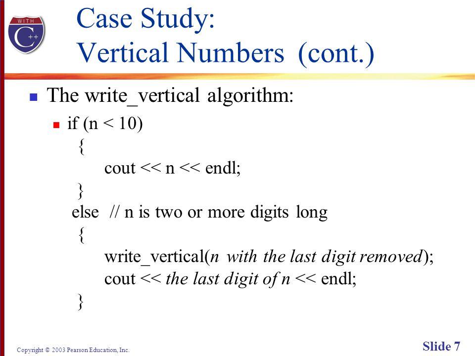 Copyright © 2003 Pearson Education, Inc. Slide 58 Display 13.2 Back Next