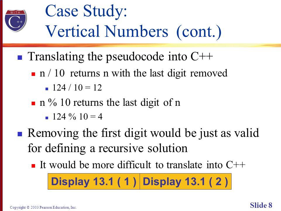 Copyright © 2003 Pearson Education, Inc. Slide 59 Display 13.3 Back Next