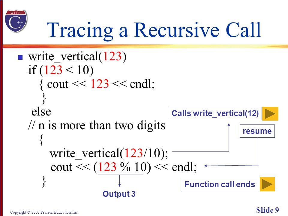 Copyright © 2003 Pearson Education, Inc. Slide 60 Display 13.4 Next Back