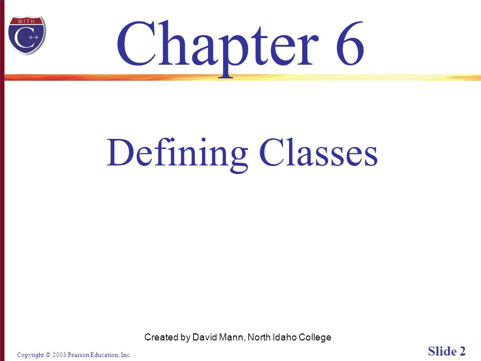 Copyright © 2003 Pearson Education, Inc. Slide 73 Display 6.4 (3/3) Back Next