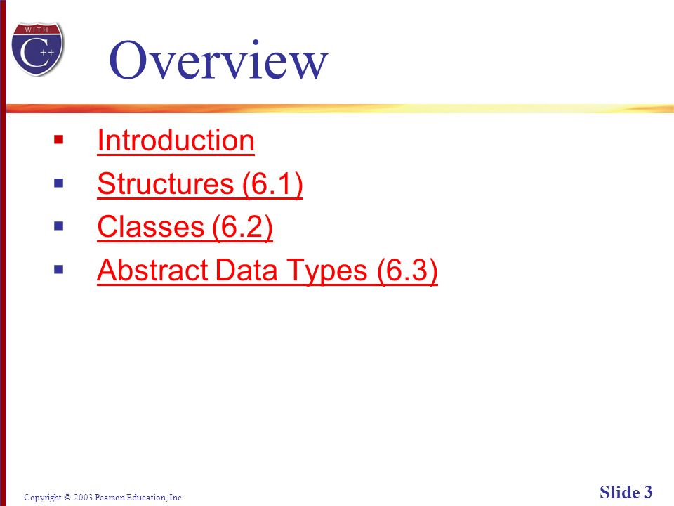 Copyright © 2003 Pearson Education, Inc. Slide 74 Display 6.5 (1/4) Back Next