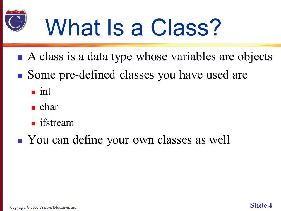 Copyright © 2003 Pearson Education, Inc. Slide 75 Display 6.5 (2/4) Back Next