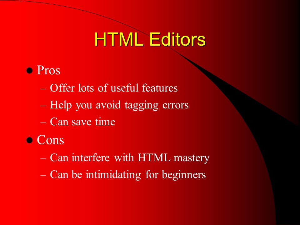 The Web Page Development Cycle 1.Save your HTML file 2.