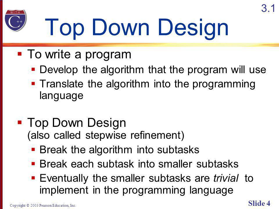 Copyright © 2003 Pearson Education, Inc. Slide 75 Display 3.11 (1/2) Back Next