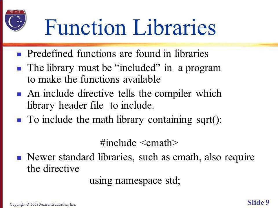 Copyright © 2003 Pearson Education, Inc. Slide 60 Display 3.1 Back Next