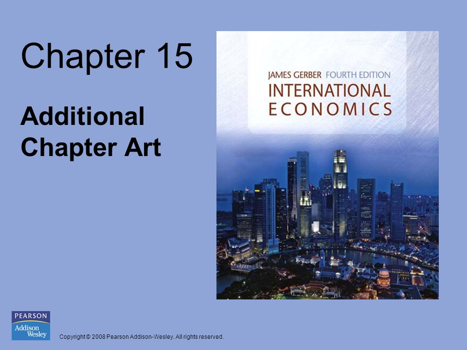 Copyright © 2008 Pearson Addison-Wesley. All rights reserved. Chapter 15 Additional Chapter Art
