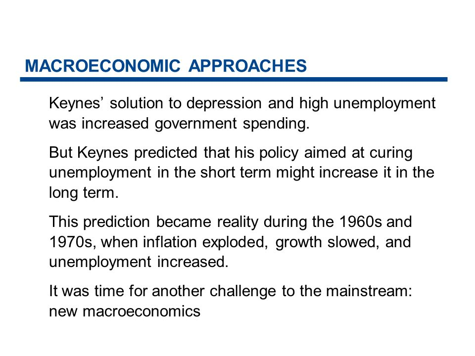 MACROECONOMIC APPROACHES The New Macroeconomics New macroeconomics is a body of theory about how a market economy works based on the view that macro outcomes depend on micro choicesthe choices of rational individuals and firms interacting in markets.