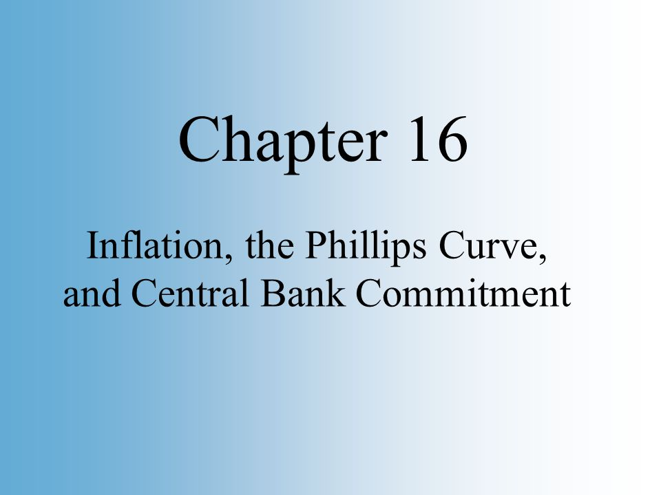 Copyright © 2002 Pearson Education, Inc. Slide 2 Inflation, the Phillips Curve, and Central Bank Commitment Chapter 16
