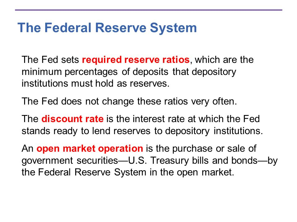 Figure 25.3 summarizes the Feds structure and policy tools. The Federal Reserve System