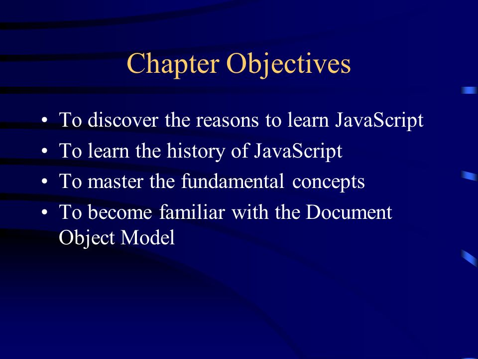 The Web Wizards Guide To JavaScript Chapter 1 JavaScript Basics
