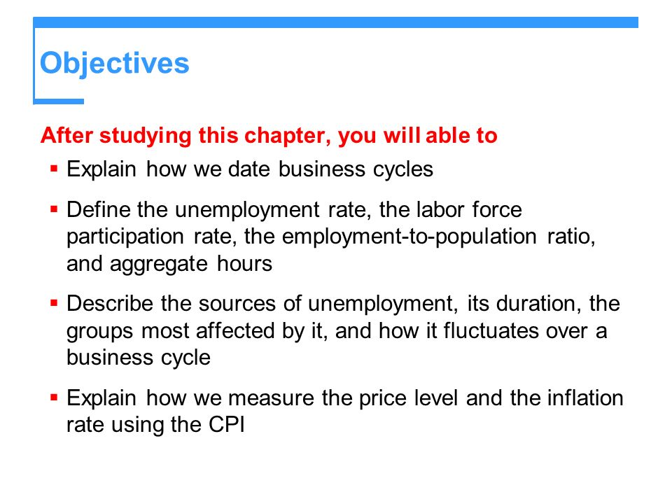 The Consumer Price Index Measuring Inflation The main purpose of the CPI is to measure inflation.