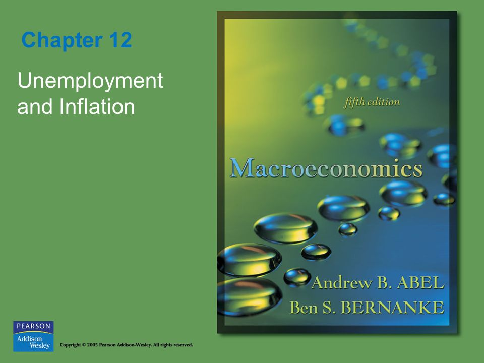 Chapter 12 Unemployment and Inflation