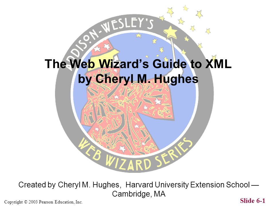 Copyright © 2003 Pearson Education, Inc.Slide 6-1 Created by Cheryl M.