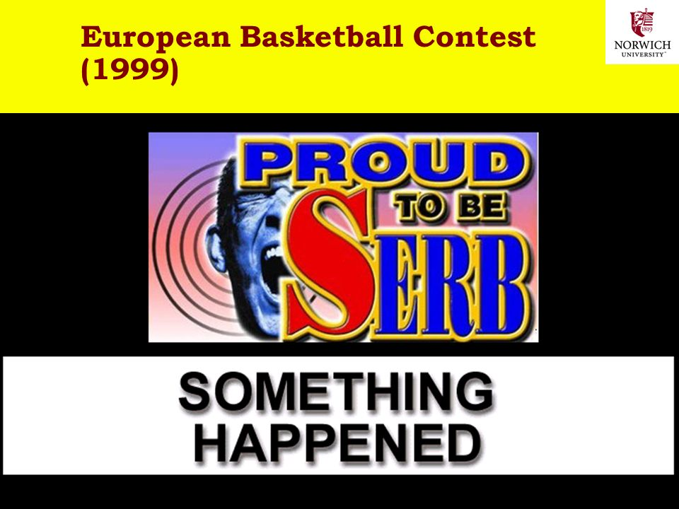 2-18/41 Copyright © 2006 M. E. Kabay. All rights reserved. 09:05-10:25 European Basketball Contest (1999)