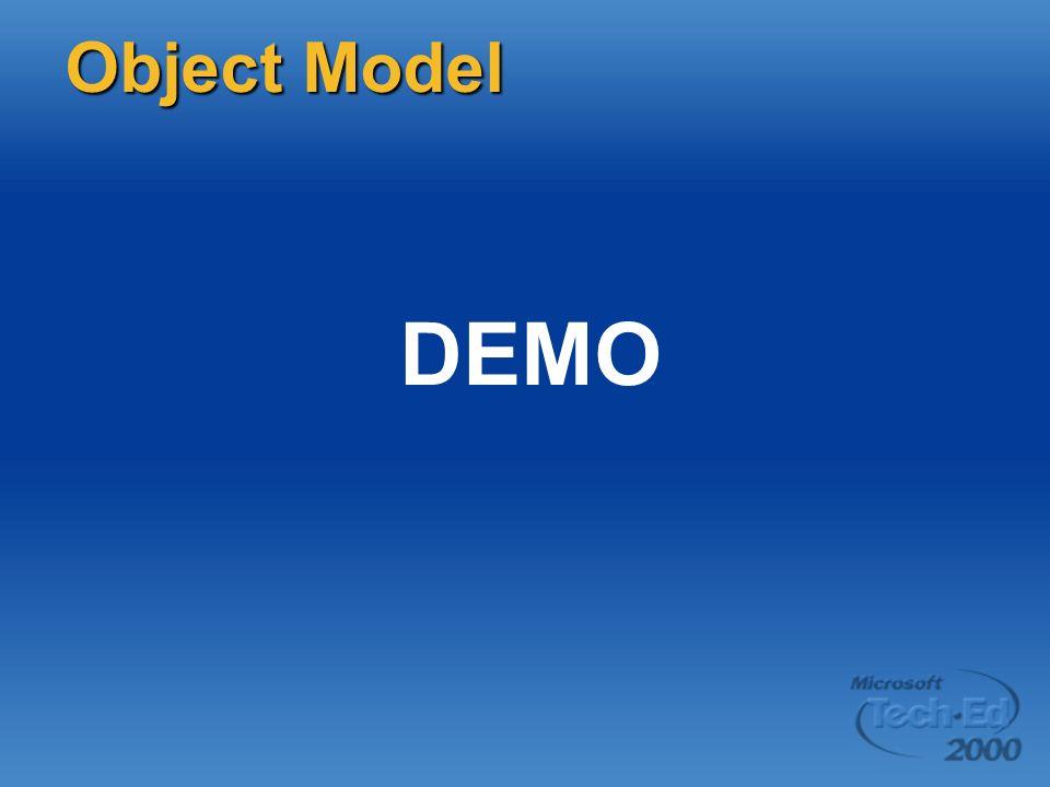 DEMO Object Model